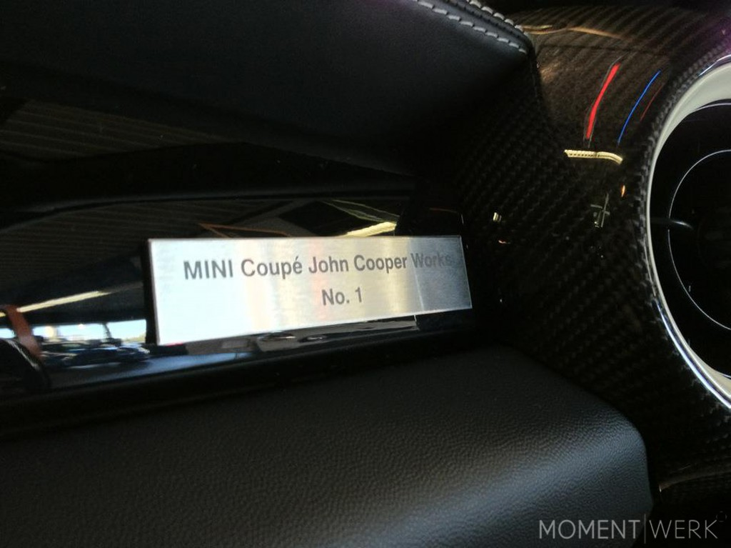 MINI Coupe Badge